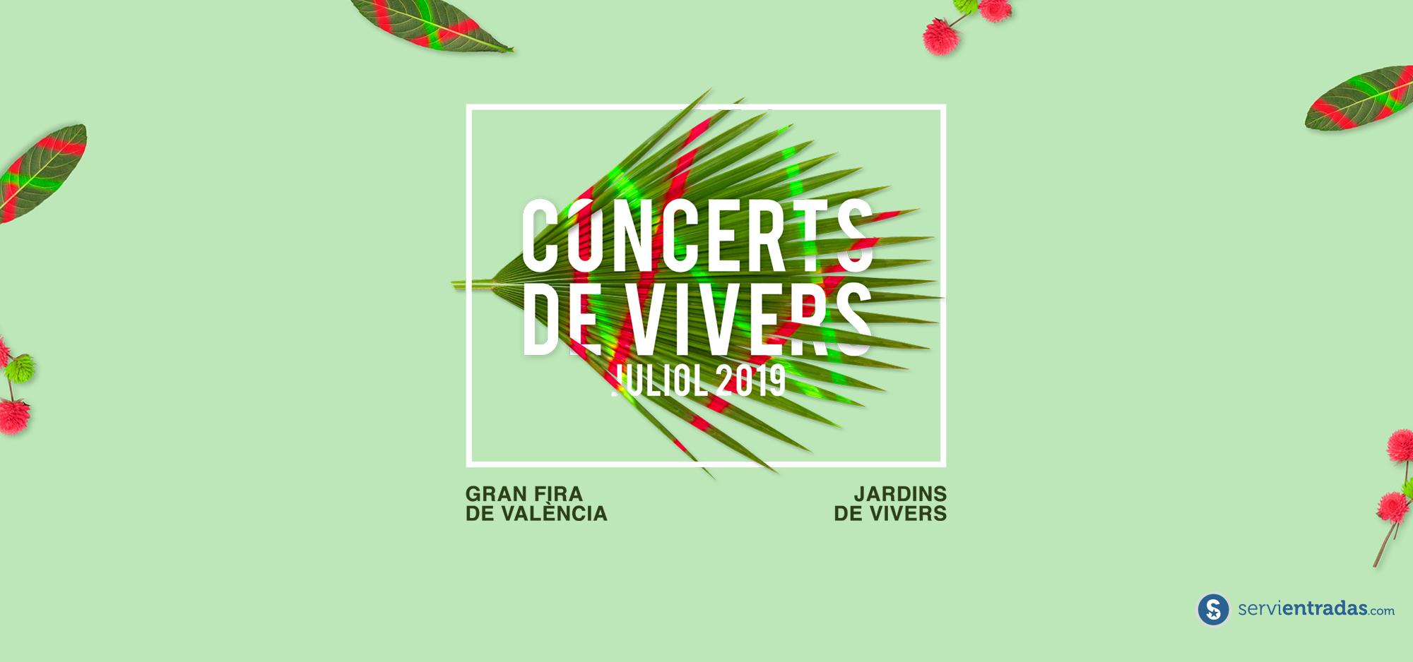 Conciertos Feria de Julio 19